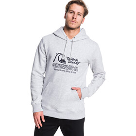 Quiksilver Nelson Sun Screen Fleece Hoodie Heren, athletic heather